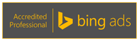 Wir sind Bing Ads zertifizierte Agentur